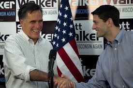 The continuing love story of running mates Romney and Ryan