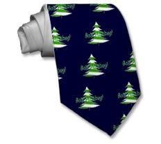 """Christmas tie that says, """"Bah! Humbug!"""""""