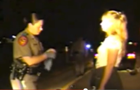 Texas troopers perform roadside full body cavity search on two more women.