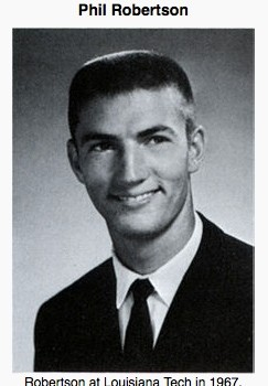 Duck Dynasty's Phil Robertson in 1967.