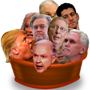 GOP heads: Hell in a Hand Basket